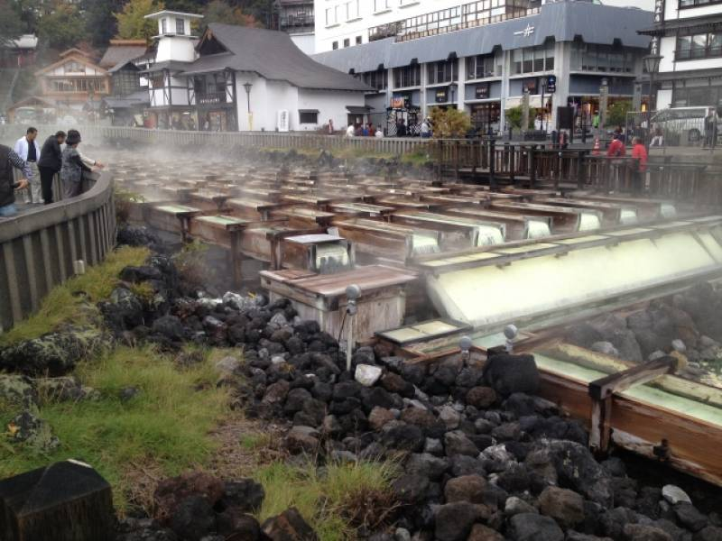 Gunma-ken - Districts / Prefectures - Kusatsu hotspring - famous big hotspring - 1st picture/image