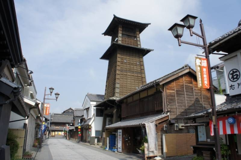 Saitama-ken - Districts / Prefectures - Kawagoe - beatiful traditional cityscapes - 1st picture/image
