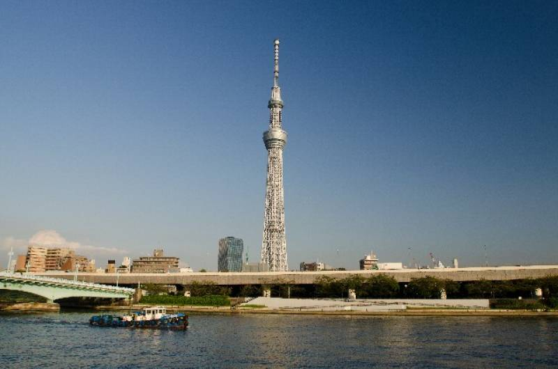 Tokyo - Districts / Prefectures - Tokyo sky tree - new symbol tower - 1st picture/image