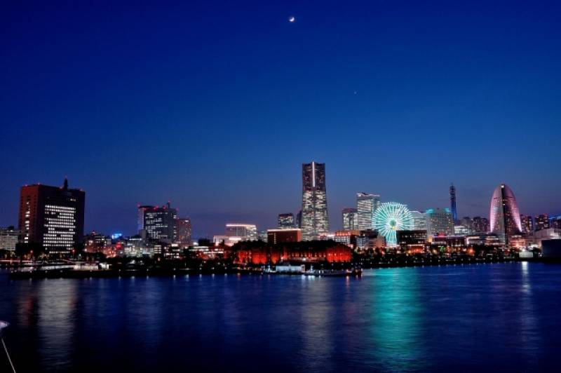 Kanagawa-ken - Districts / Prefectures - Yokohama bay - beatiful big bay - 1st picture/image