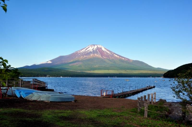 Yamanashi-ken - Districts / Prefectures - Mt. Fuji - beatiful and nation representative mountain - 1st picture/image