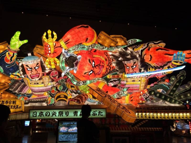 Aomori-ken - Districts / Prefectures - Nebuta festival - famous traditional festival - 1st picture/image