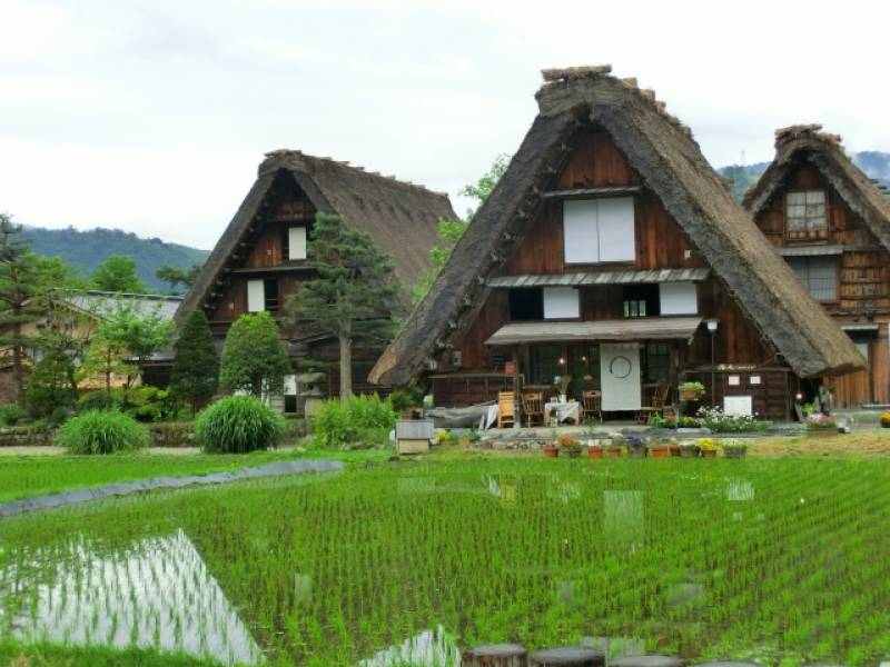 Gifu-ken - Districts / Prefectures - Shirakawago - traditional rural vellage - 1st picture/image