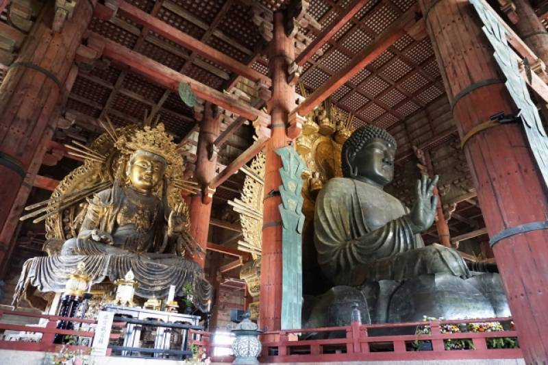 Nara-ken - Districts / Prefectures - Todaiji temple - famous and big temple having big budda - 1st picture/image