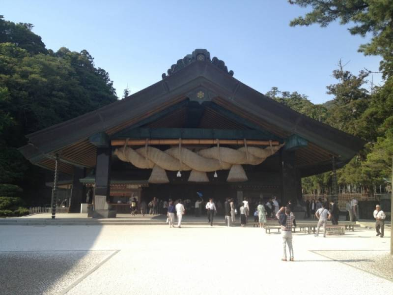 Shimane-ken - Districts / Prefectures - Izumo Taisha shrine - big and traditional shrine - 1st picture/image