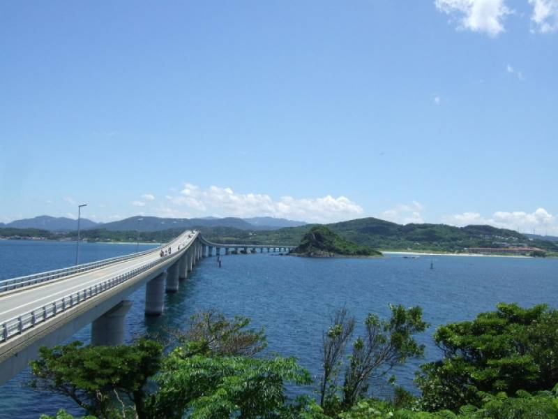 Yamaguchi-ken - Districts / Prefectures - Tsunoshima big bridge - big and beatiful bridge - 1st picture/image