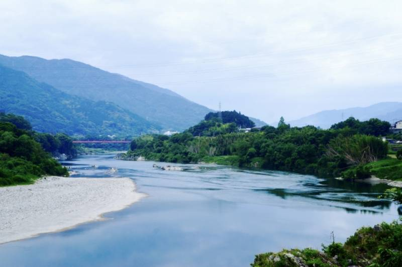 Tokushima-ken - Districts / Prefectures - Yoshino river - beatiful river - 2nd picture/image