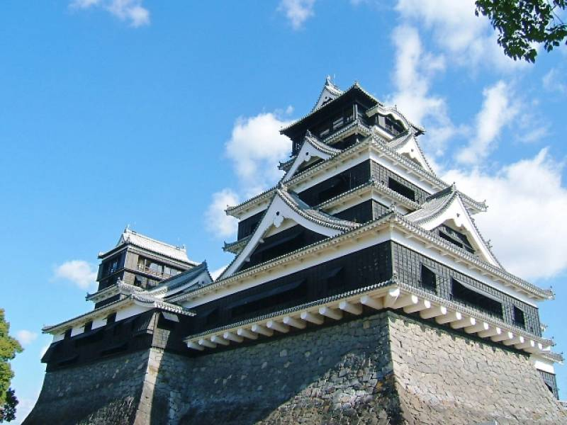 Kumamoto-ken - Districts / Prefectures - Kumamoto castle - beatiful castle - 2nd picture/image