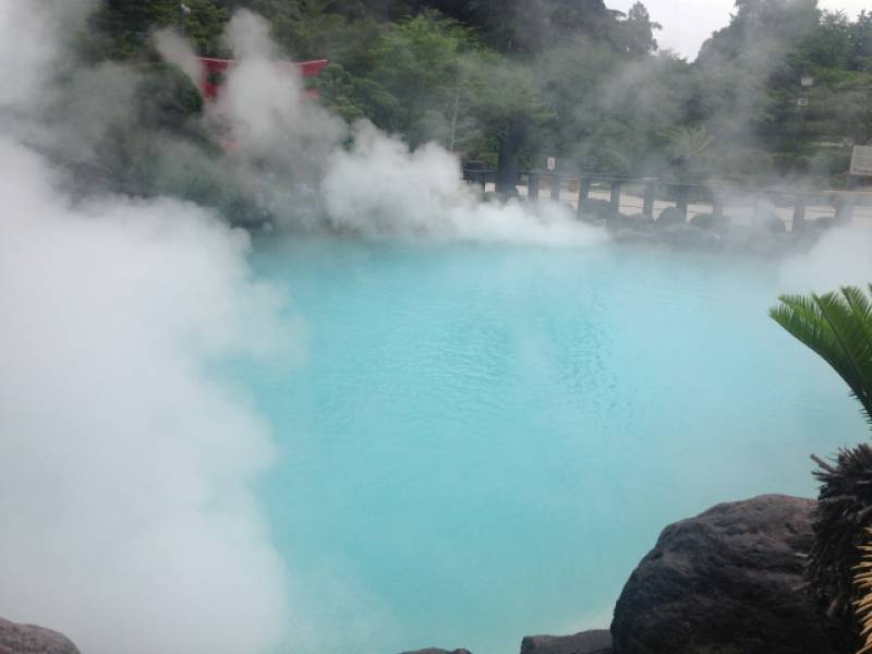 Oita-ken - Districts / Prefectures - Beppu - big and famous hotspring city - 1st picture/image