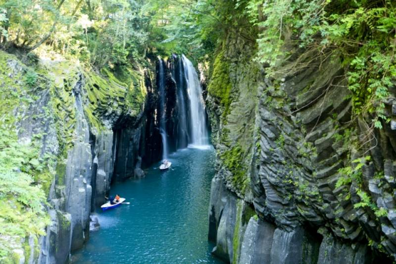 Miyazaki-ken - Districts / Prefectures - Takachiho gorge - beatiful gorge - 2nd picture/image