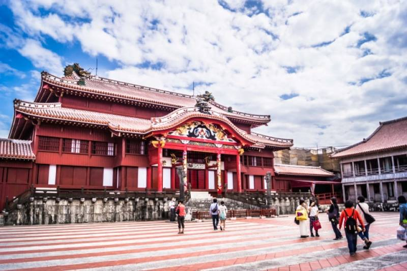 Okinawa-ken - Districts / Prefectures - Shuri castle - beatiful castle - 2nd picture/image