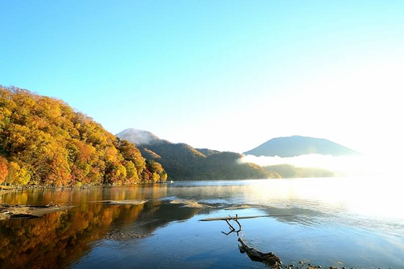 Tochigi-ken - Districts / Prefectures - Chuzenji lake - beatiful lake - 2nd picture/image